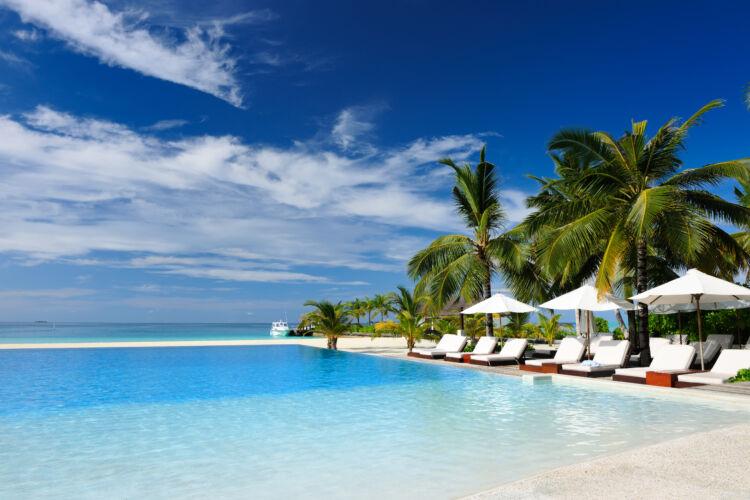 Pool at Luxury Resort
